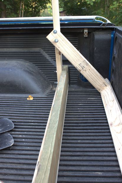 Build Your Own Low Cost Pickup Truck Canoe Rack Racks