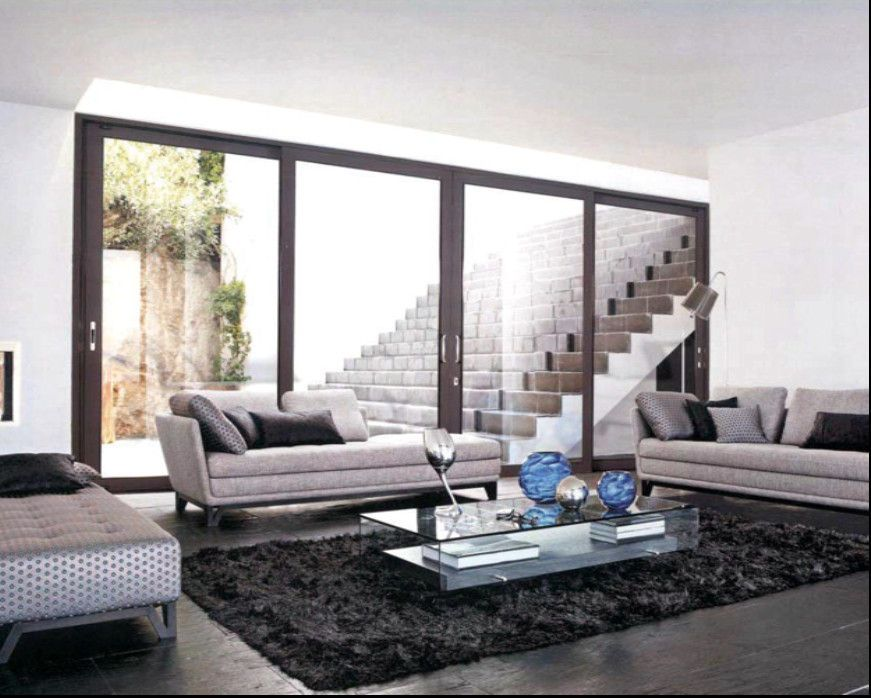 Glass Door Designs For Living Room Large Glass Door Modern  Glass Door For Hotel Modern