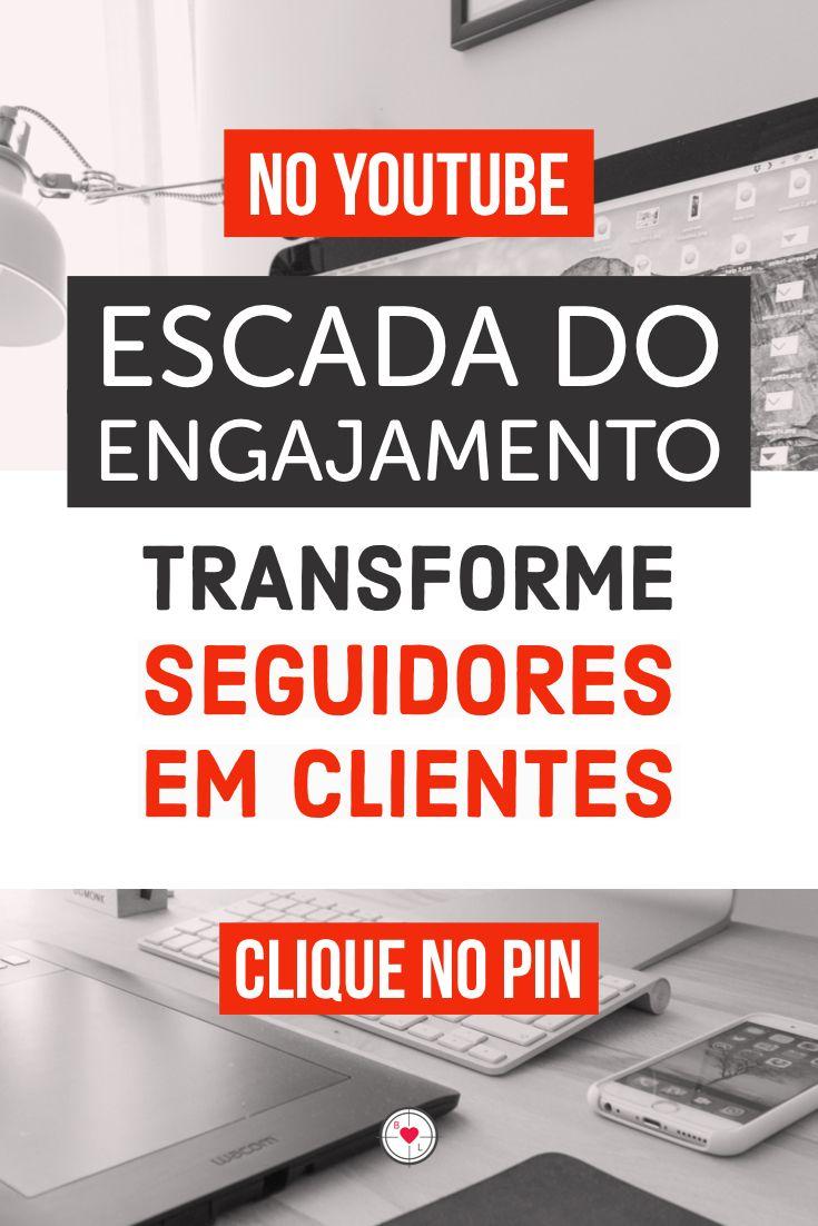 Mídias Sociais - Escada do Engajamento. Aprenda a transformar seguidores em clientes. - YouTube