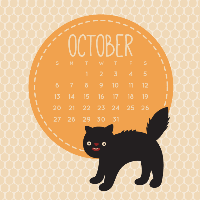Craft octobers spooky cat calendar wild olive create with craft octobers spooky cat calendar wild olive october wallpapercat calendarwallpapers for desktopbirthday voltagebd Choice Image