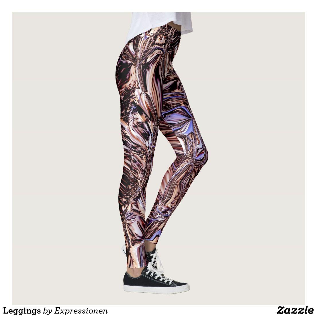 Leggings Zazzle De Hosen Damen Mode Kleidung Muster