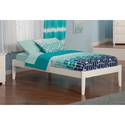 Isabelle Max Bolick Extra Long Twin Platform Bed Atlantic
