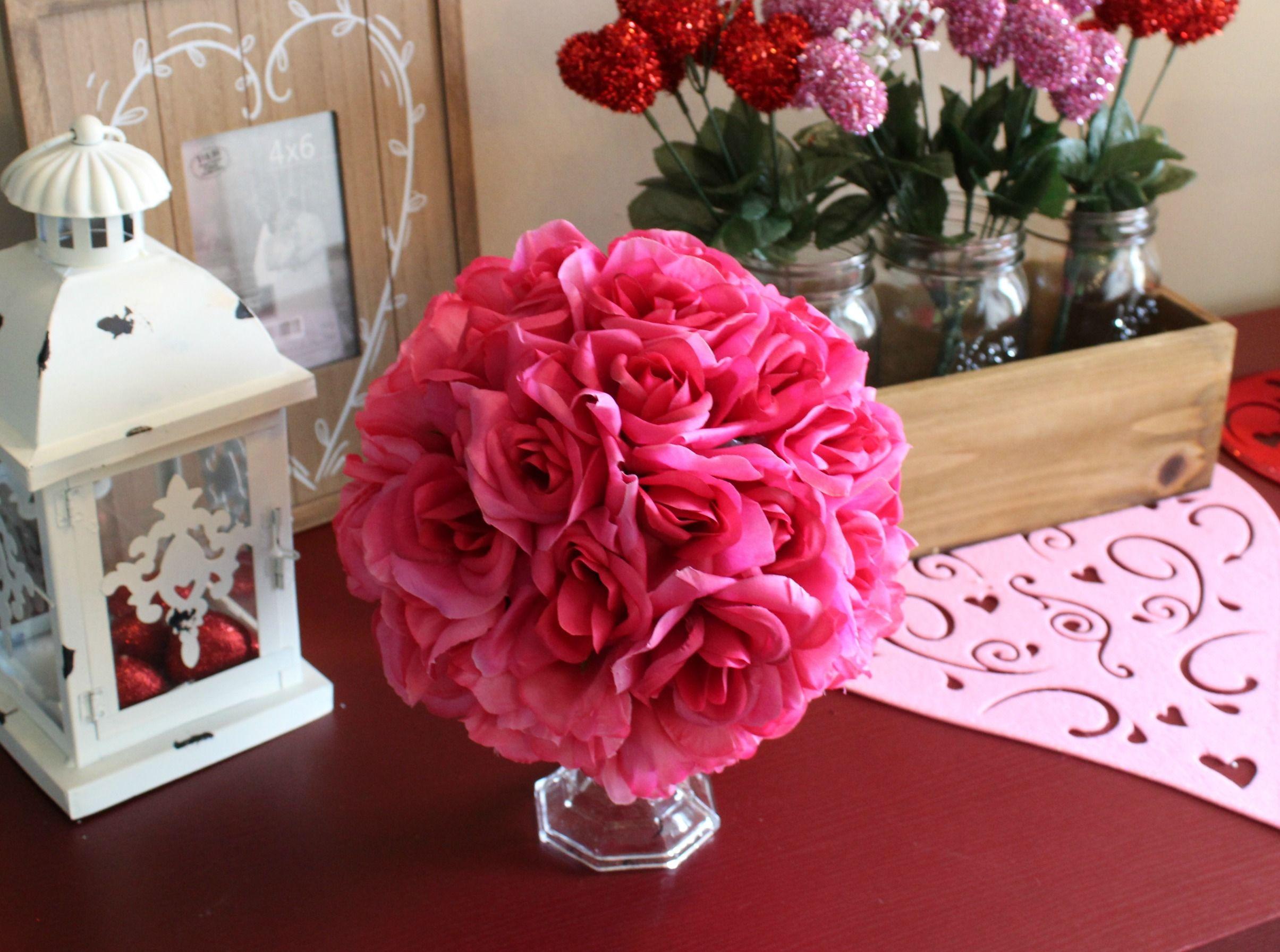 Valentine S Day Diy Decor From Dollar Tree Valentine S Crafts And