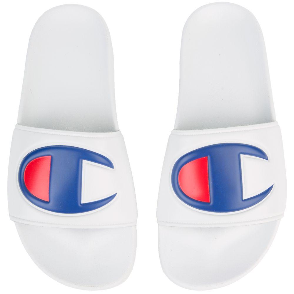 fcf006174 Champion Grade School Champion Ipo Slide Sandals White