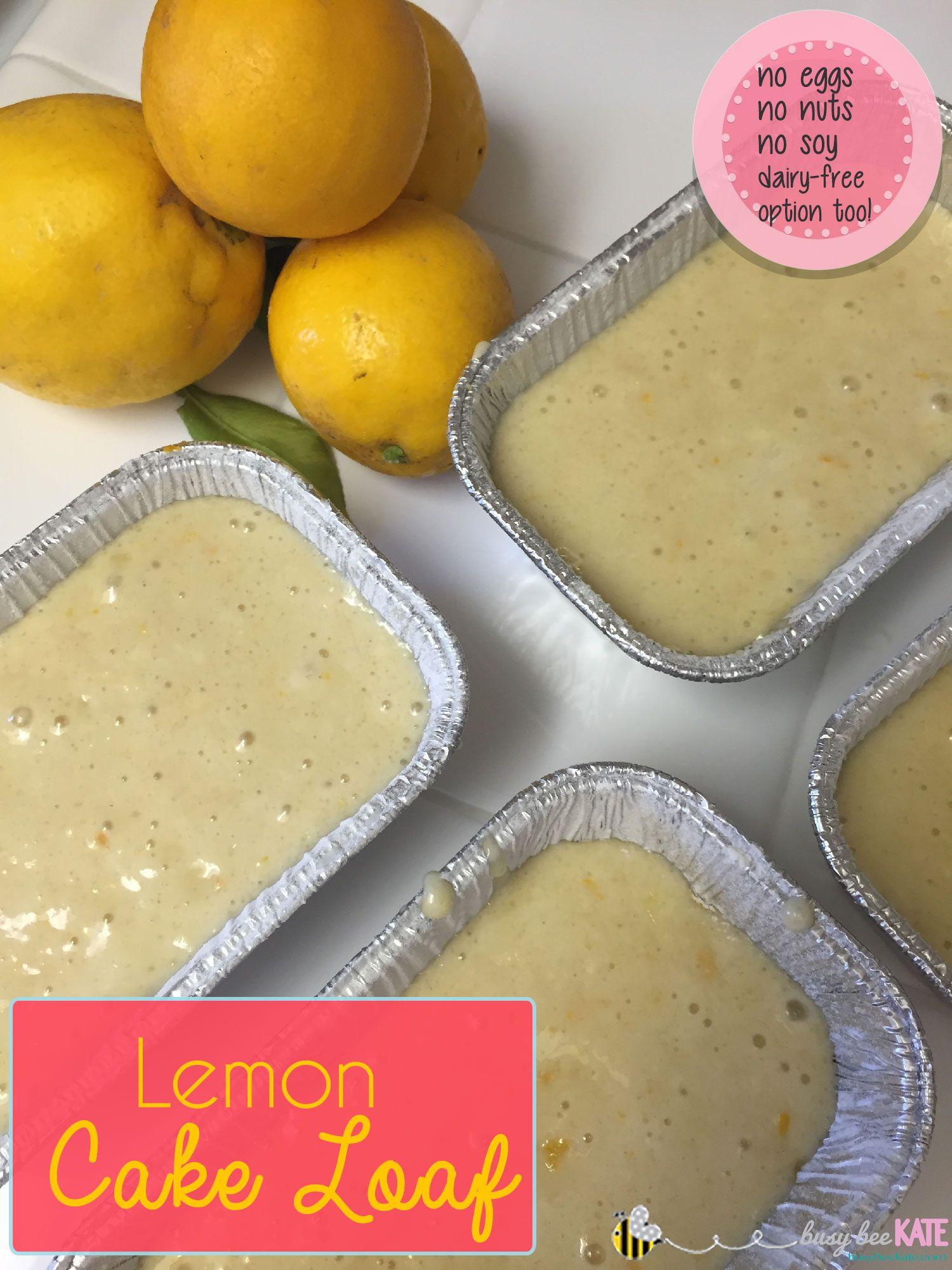 Lemon Cake Loaf