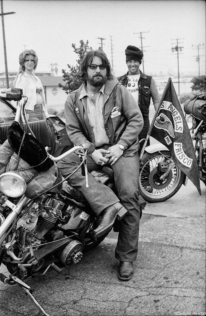 Hells Angels - Santa Barbara, CA 1979 Photo: Dwayne Newton