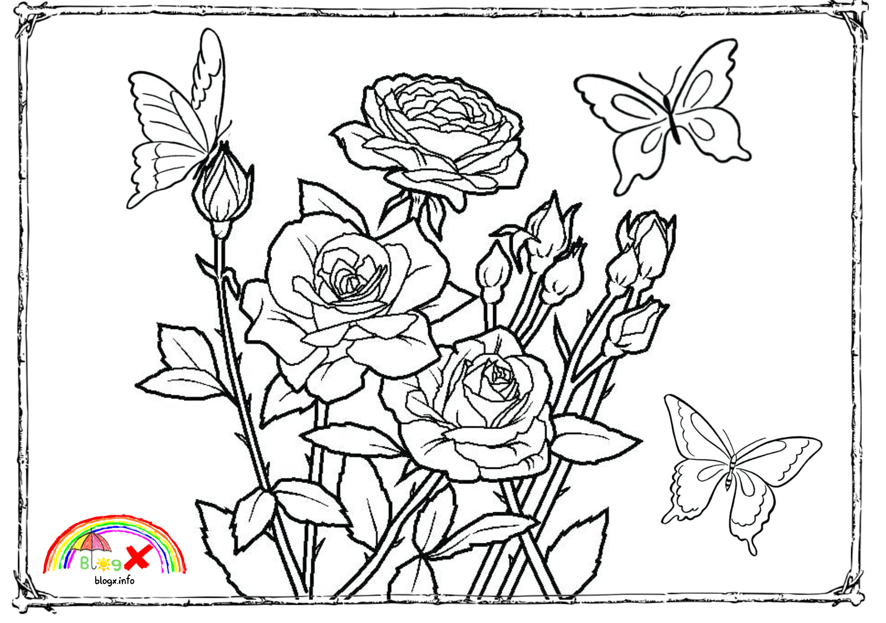 Pin By Ellok Network On Coloring Butterfly Coloring Page Flower Coloring Pages Coloring Pages [ 1237 x 1759 Pixel ]
