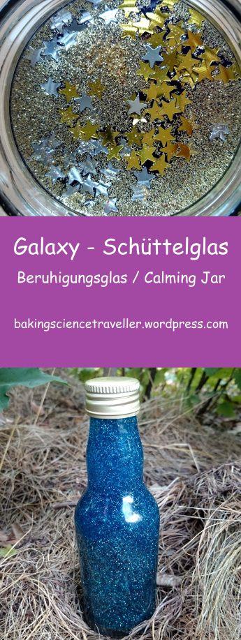 Galaxy – Schüttelglas {Weltraum-Kindergeburtstag}