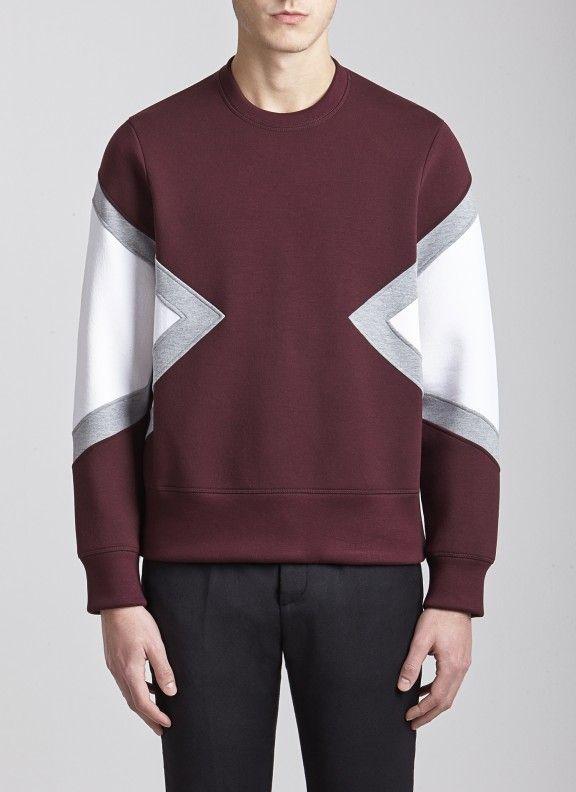 Tight Crew Neck  Modernist  Sweatshirt 1167