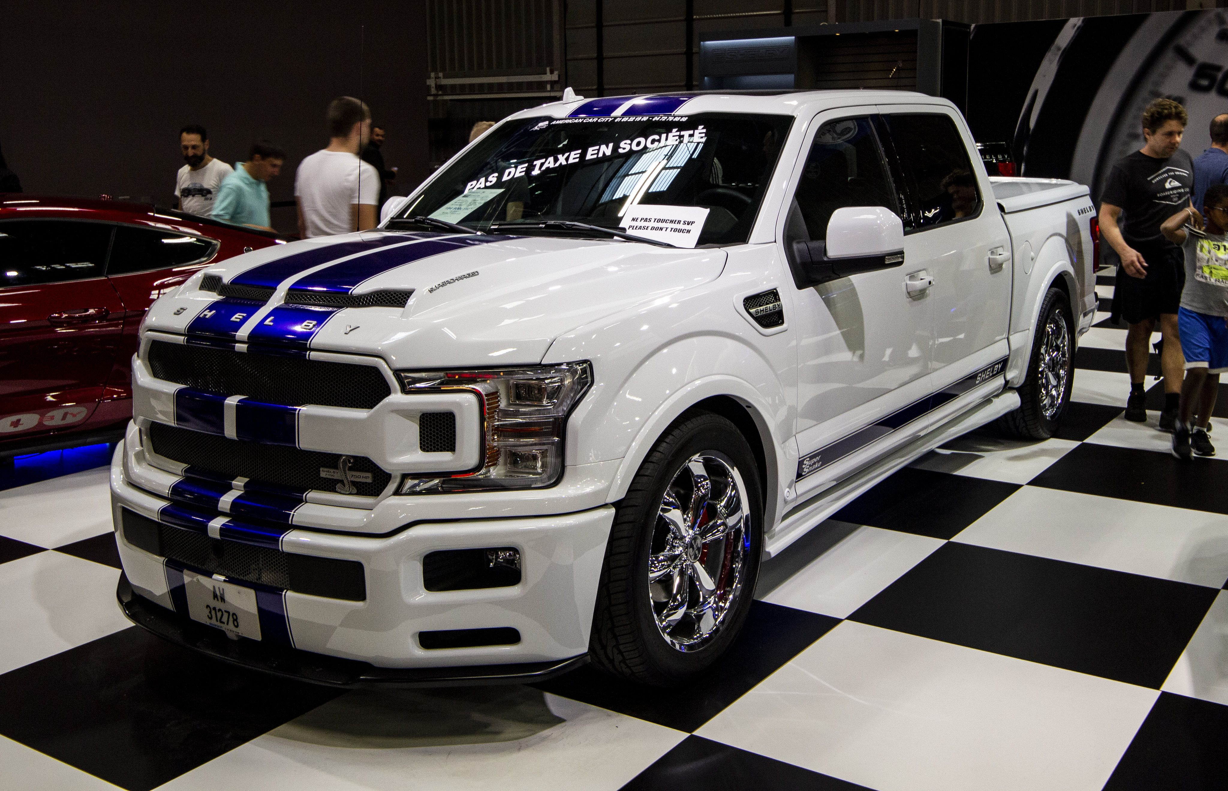 Shelby F150 Super Snake Paris Motor Show 2018 Shelby F150 F150 Ford Mustang Shelby Gt500