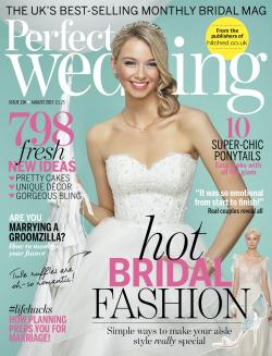 Perfect Wedding August 2017 issue 136 wedding