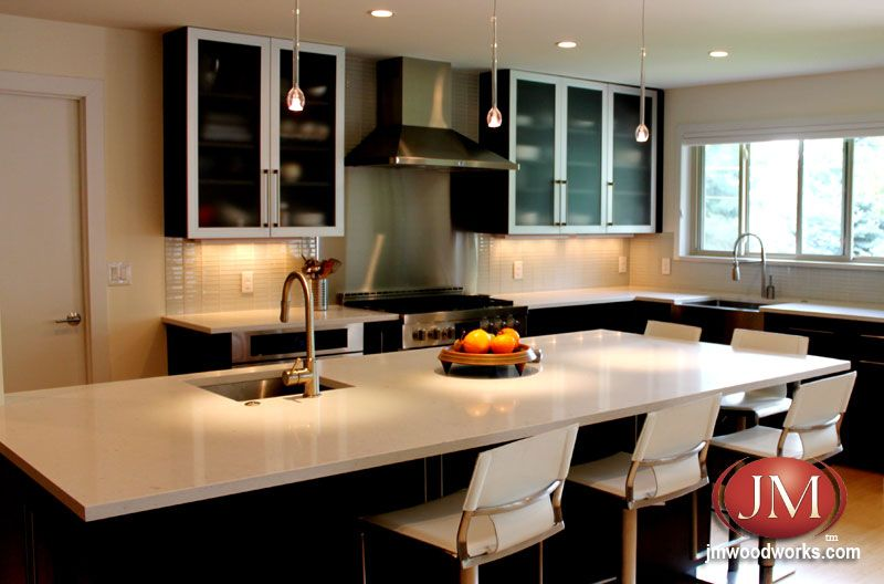 Contemporary Kitchen Designers Delectable Sleek Contemporary Kitchen Renovation  Kitchen Countertops Decorating Design