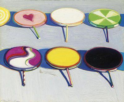 Cake Art Affair : Wayne Thiebaud? a love affair Wayne thiebaud, Lollipops ...