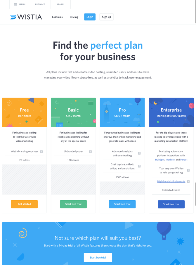 11 Pricing Page Examples To Inspire Your Own Design Web Design Pricing Web Design Marketing Design
