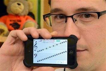 Awesome idea: Teacher is asking for devices so that his students can use them in his music classes, which typically involve students moving around the room, singing, playing instruments and creating music.  Read more: http://www.post-gazette.com/local/north/2013/11/14/Apps-in-the-music-classroom/stories/201311140081#ixzz2kj9qa7mZ