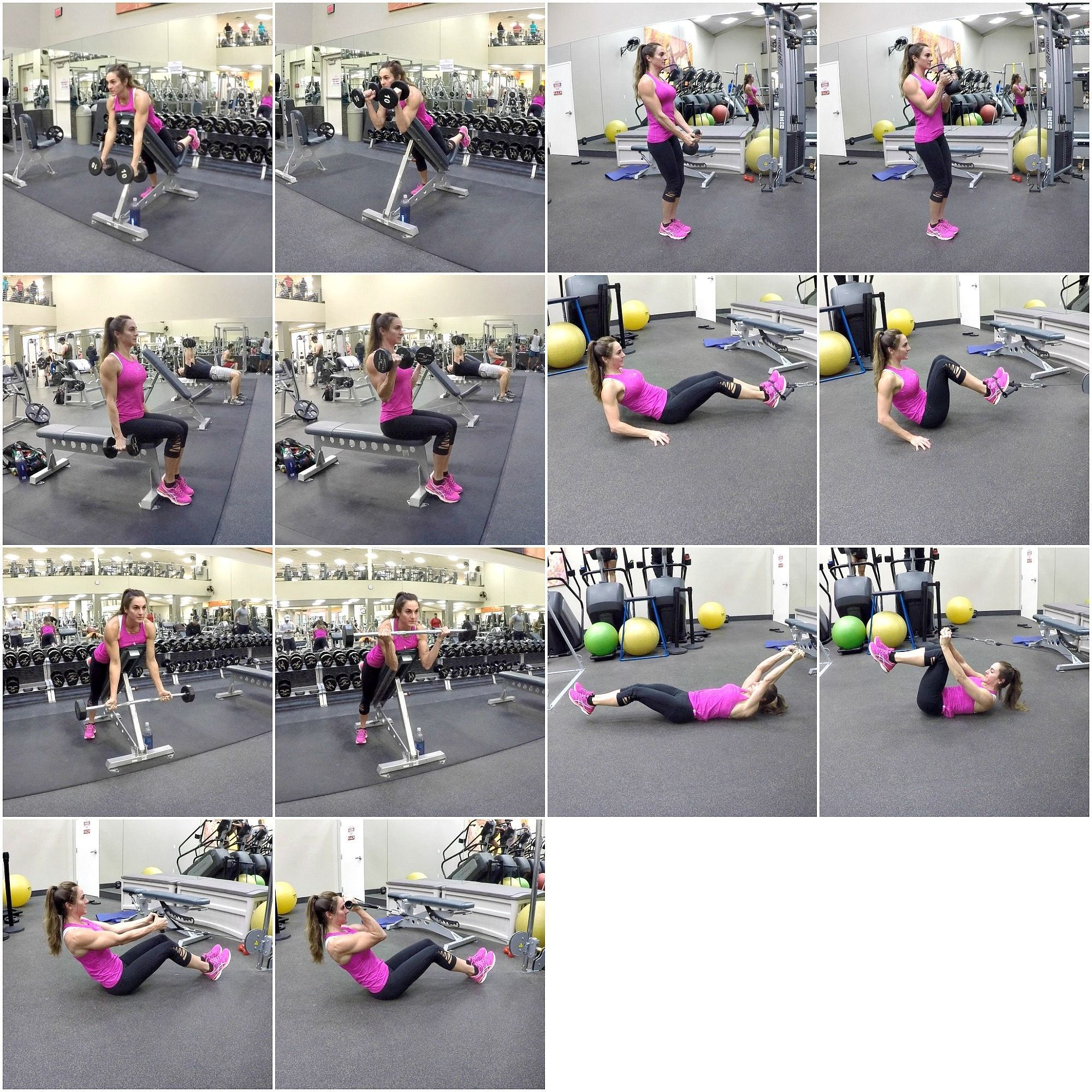 30 Day Fitness Challenge Day 5: Biceps a... - 30 Day Fitness Challenge Day 5: Biceps and Abs #Abs #B...
