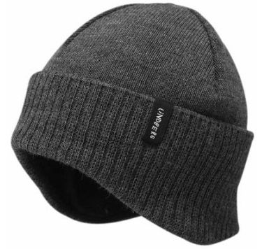 Swedish-cut Beanie Hat - cut to cover your ears as well as your head ... 258db61de14
