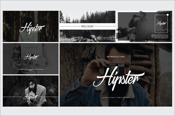 Hipster Presentation Template By Fikranadesign On Creativemarket