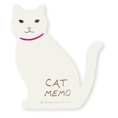 greeting life animal die cut memo cat etn 63 products pinterest