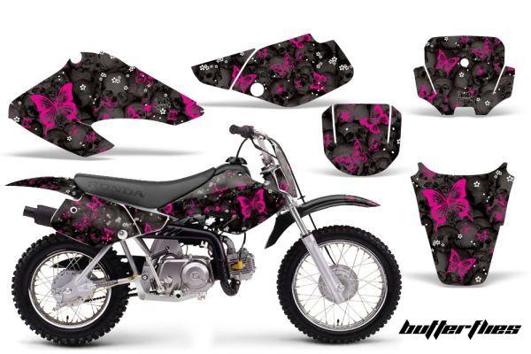 AMR Butterfly Custom Dirt Bike Graphics Kit Honda CRF - Decal graphics for dirt bikes