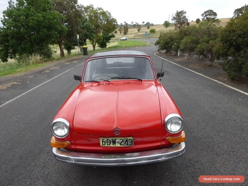 VOLKSWAGEN 4 1971 CLASSIC NOTCH BACK CONVERTIBLE BARN FIND IN GREAT CONDITION Vwvolkswagen