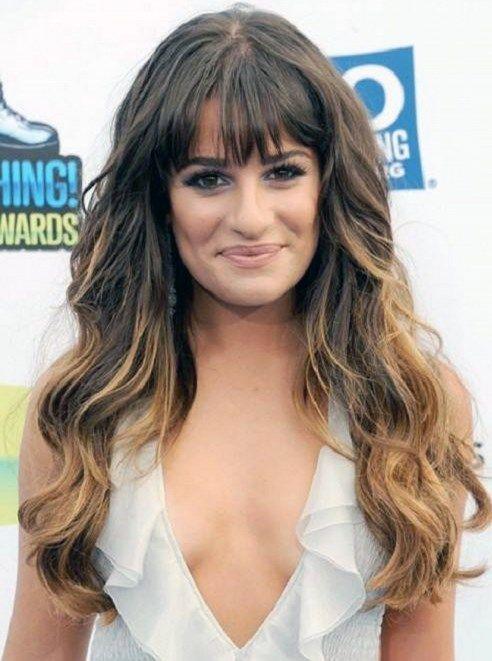 Darkbrunettehairwithombrehighlightsforlongweavehairstyles - Hairstyles for dark brown thick hair