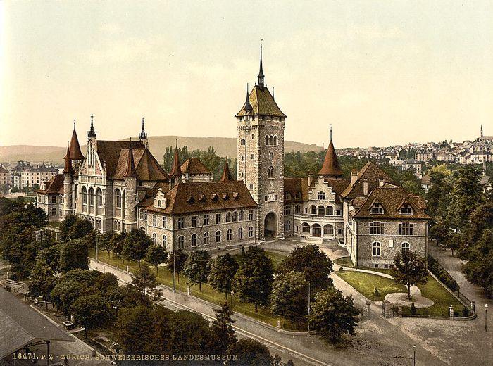 1890/1900 - Zürich.Schweizerisches Landesmuseum.