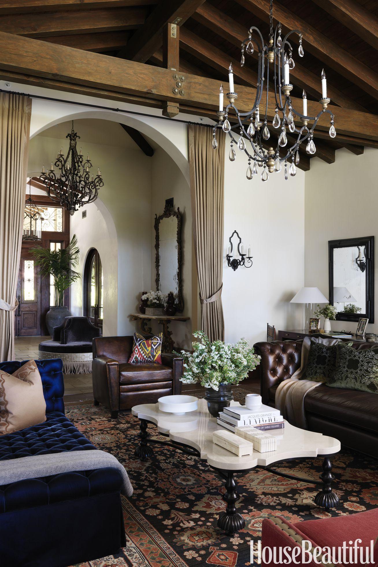 A Santa Barbara House Gets Luxe Look Christina Rottman Decorates California Home