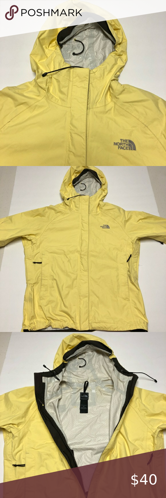 North Face Yellow Windbreaker Jacket Women S Small Small Stain On The Back Pictured Could Be Easy To Rem Yellow Windbreaker Windbreaker Jacket Women Jackets [ 1740 x 580 Pixel ]