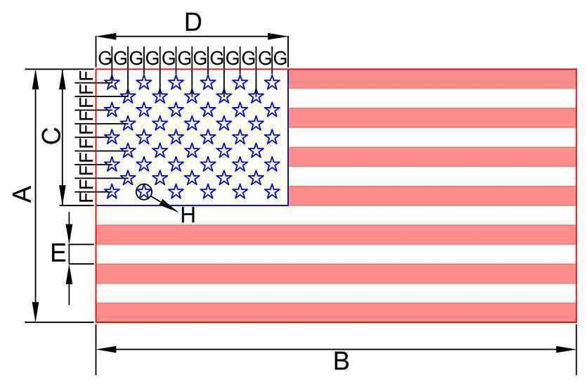 Usa United States American Flag Vector Images Freepatternsarea In 2020 American Flag Sizes Flag Vector American Flag Images
