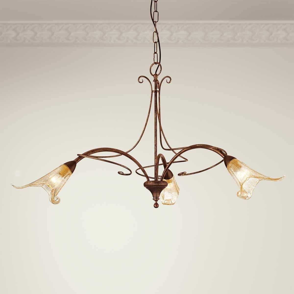 Suspension Riccardo A 3 Lampes Hangeleuchte Deckenleuchten Beleuchtung Decke