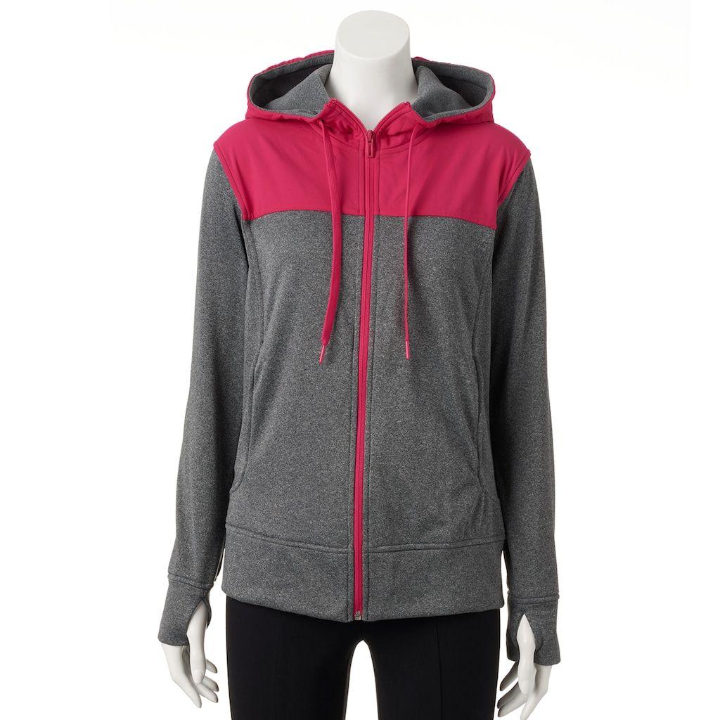 adidas fleece full zip hoodie