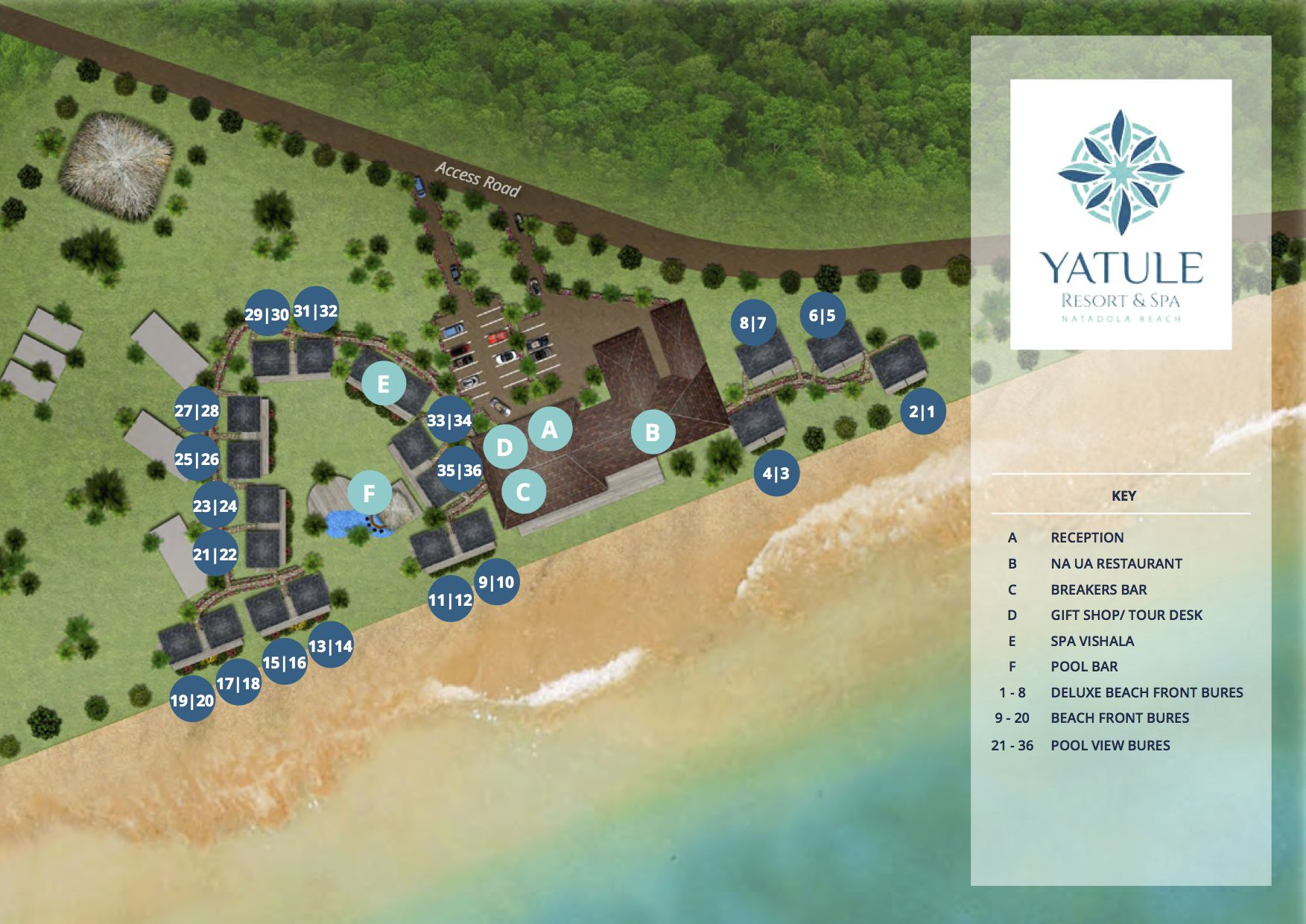 Champagne by the sea at Yatule Resort