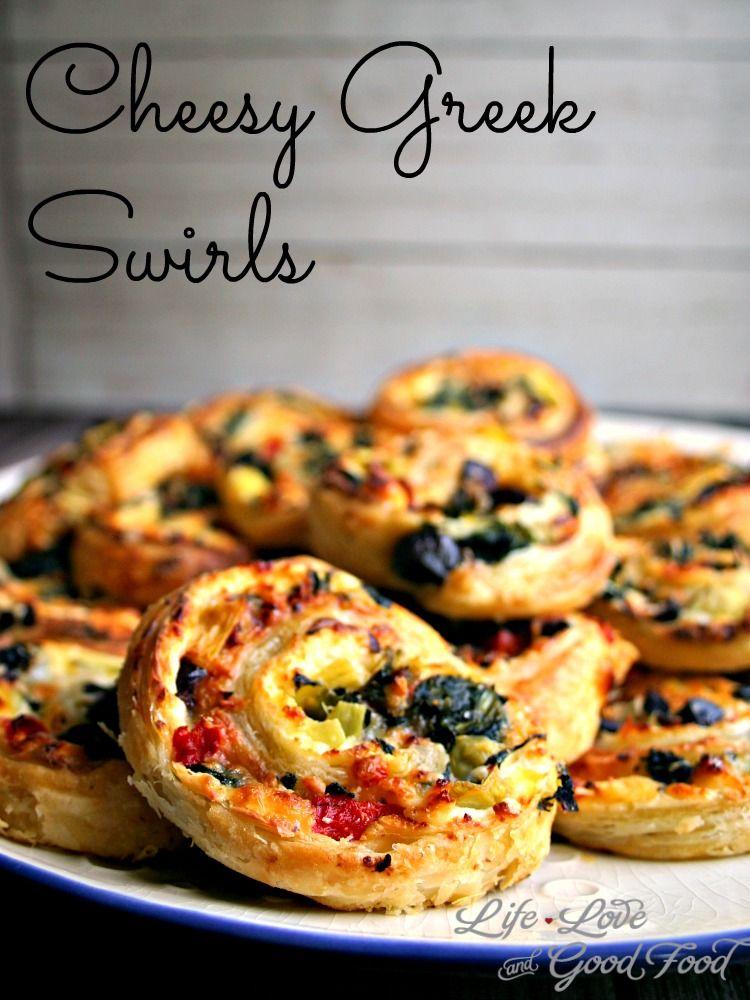 Cheesy Greek Swirls | Life, Love, and Good Food