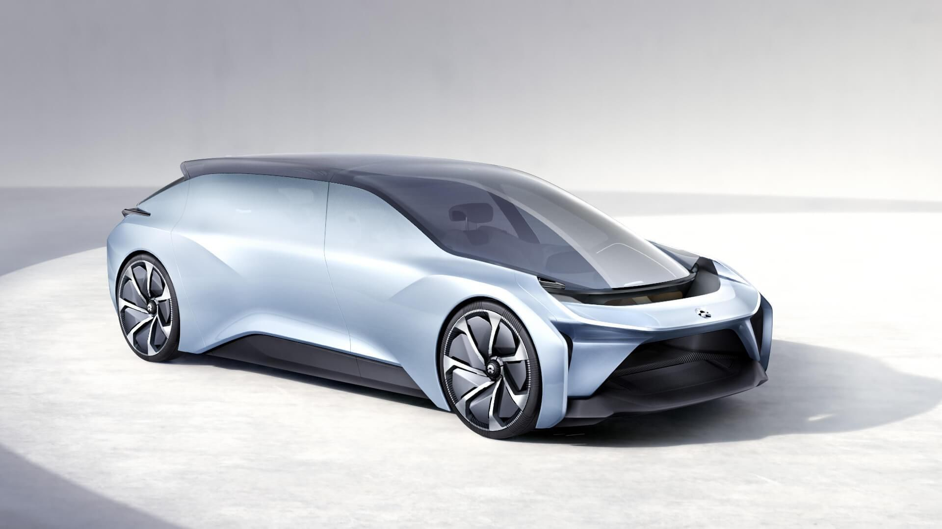 Nio Eve Concept Is Yet Another Chinese Luxury Electric Suv This One Autonomous Concept Cars Car Futuristic Cars