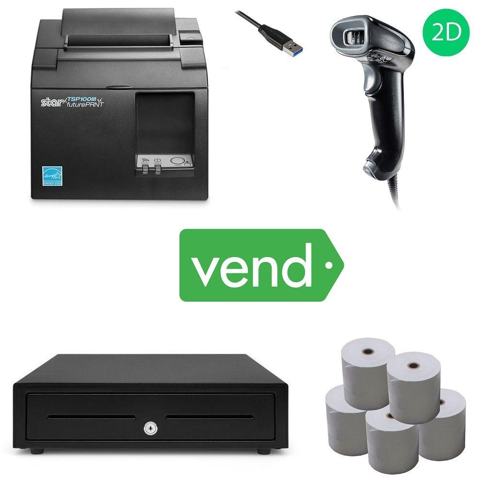 Vend Pos Hardware Bundle 15 Digital Printing Services Device Management Pos