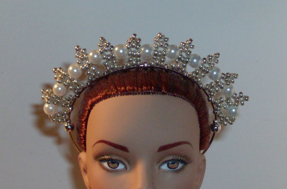 OOAK Art Doll/Fairy/Bratz/Tonner Crown/Tiara -  U Pick Color