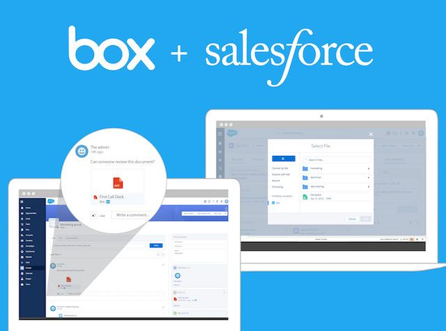 Salesforce Box Love In Plays Cupid To Frictionless Cloud Relationships Salesforce Enterprise Content Management Evernote