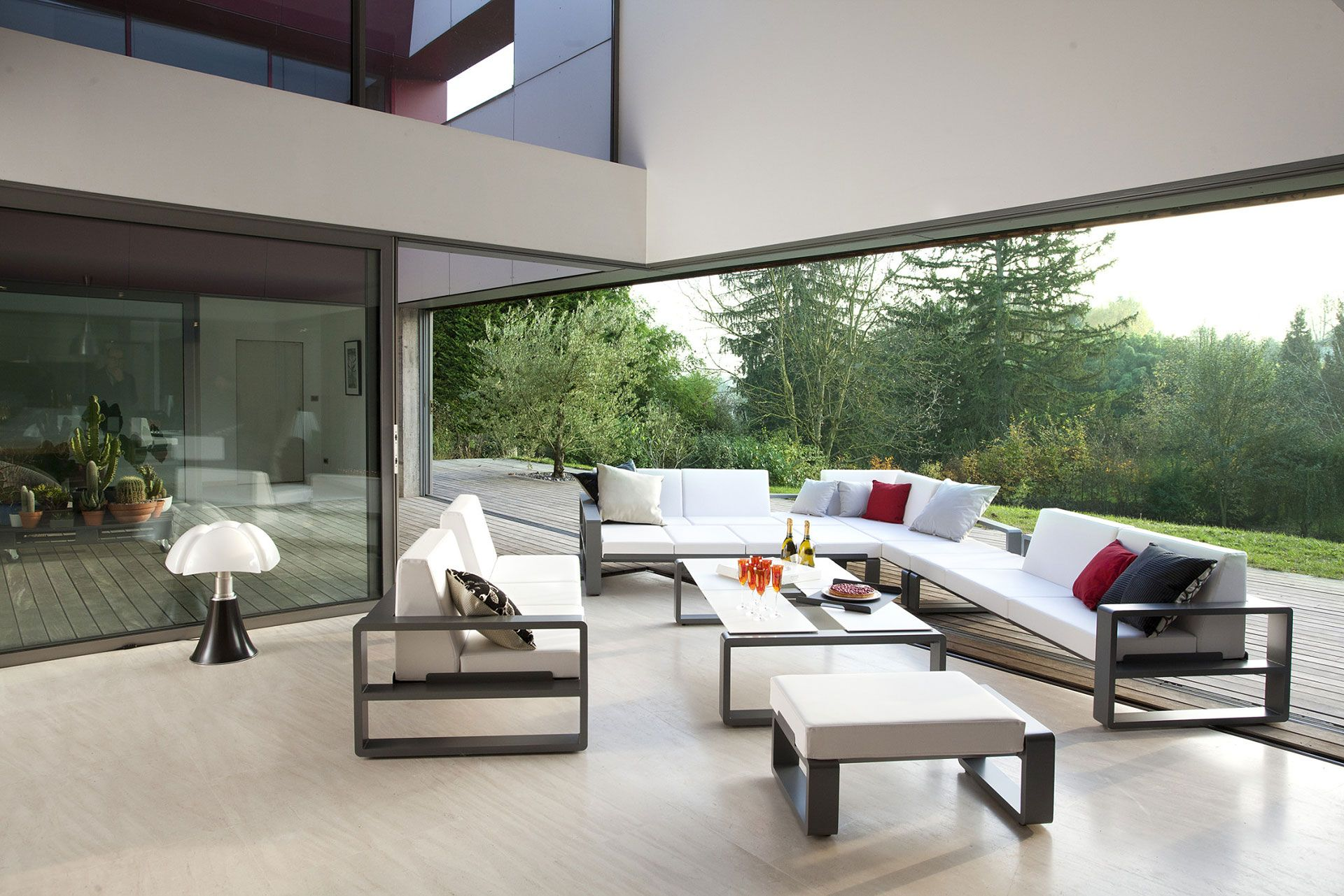 Contemporary Patio Furniture Set Furniture Modern Modular