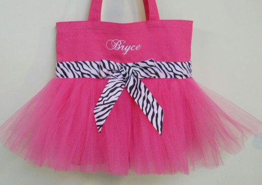 Ballet bag dance bag Tutu tote bag tutu ballet Tutu by naptime21 ... f4adf428d62e3