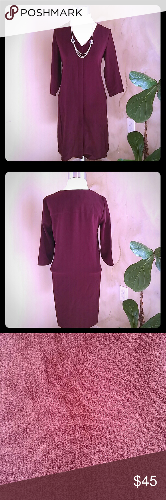 Mango Suit longsleeve dress NWT
