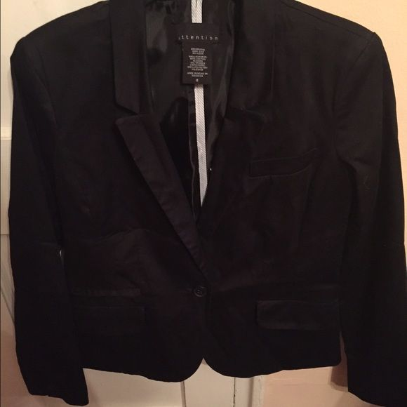 Black Blazer Black Blazer by Attention.  Size 6. Jackets & Coats Blazers