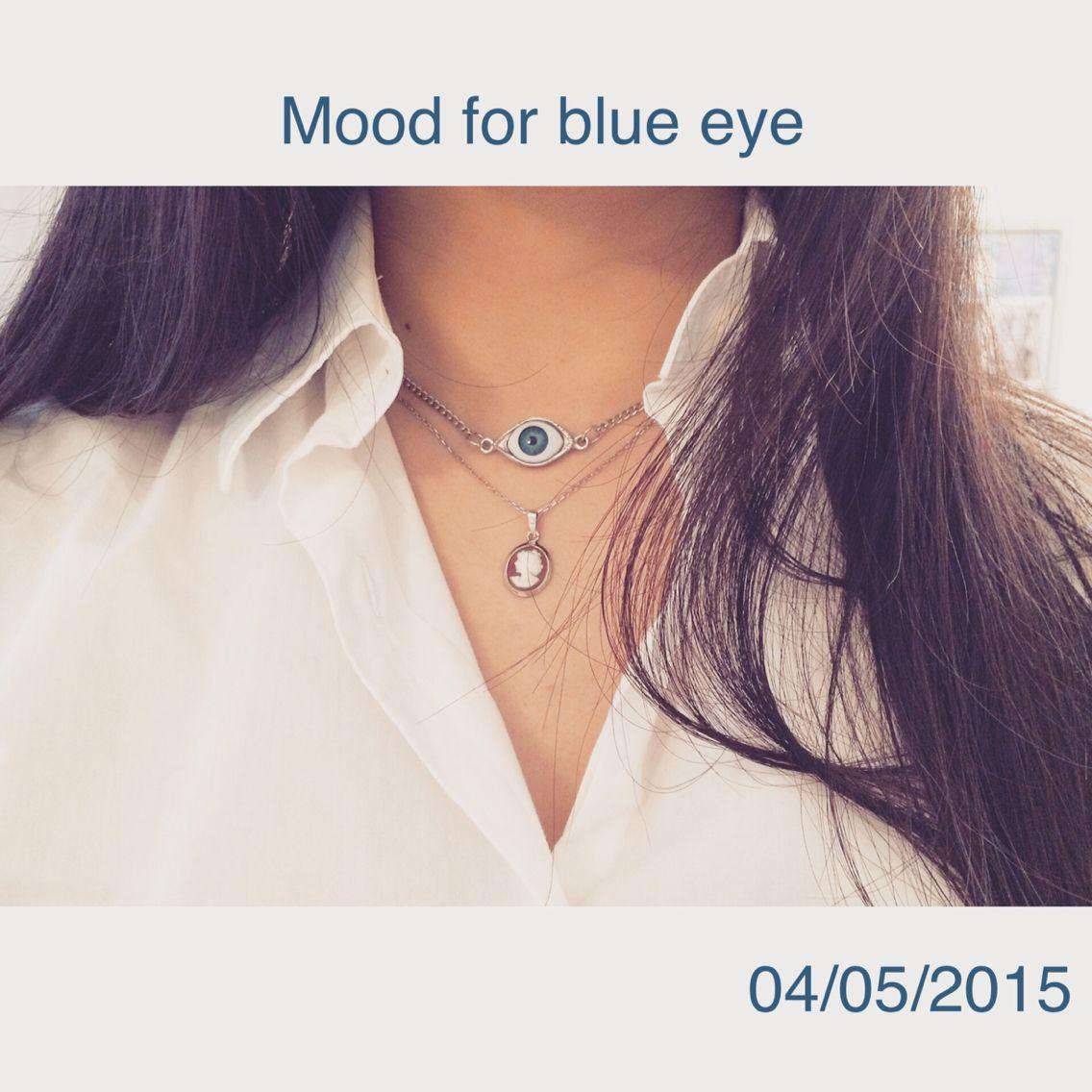 Mood for blue eye