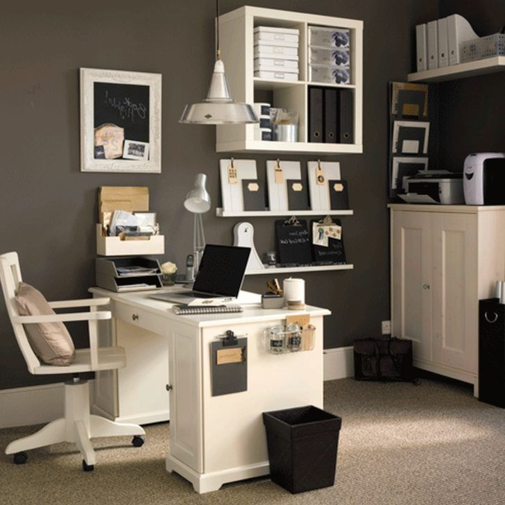 Decorating Attractive Corporate Office Ideas Transitional Business For Small House With Monochrome Home Deco And White Cherry