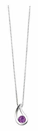 Elements P2621M/N217 – Colgante de mujer de plata con amatistas, 46 cm - See more at: http://joya.florentt.com/jewelry/elements-p2621mn217-colgante-de-mujer-de-plata-con-amatistas-46-cm-es/#sthash.1Ztcr9j8.dpuf