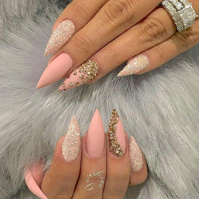 Pinterest: Teshawnjaneil❣ | Stiletto Nails | Pinterest | Nail ...