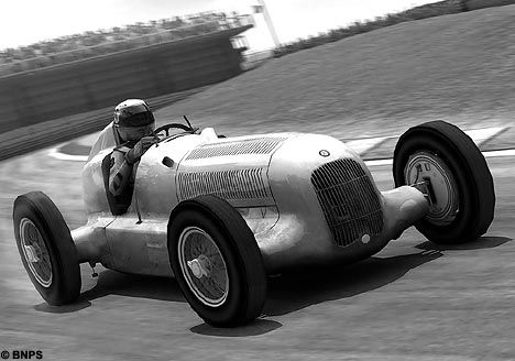 Mechanic Makes A Mercedes Silver Arrow Racing Car Out Of His Old