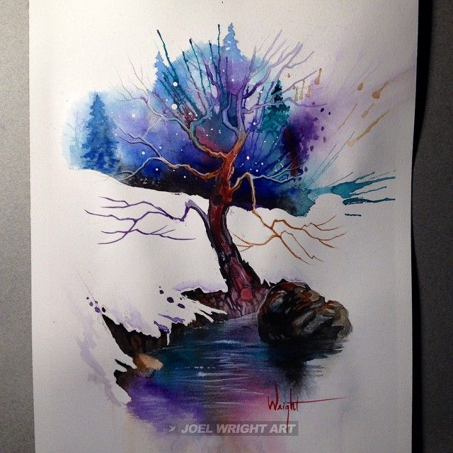 Instagram Gallery And Miles To Go Before I Sleep Tree Art