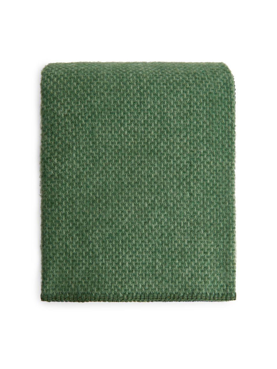 Klippan Domino Blanket Dark Green Home Objects Of Desire
