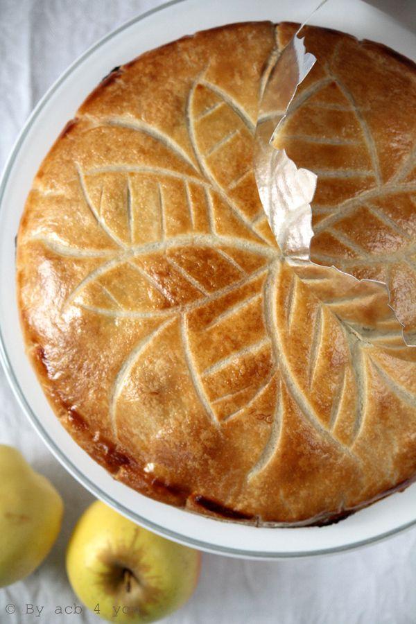 Recette galette des rois aux pommes fa on normande galette des rois brioche et couronne - Recette facile galette des rois ...